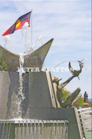 AUSTRALIA - ADELAIDE - VICTORIA SQUARE FOUNTAIN #1 R4