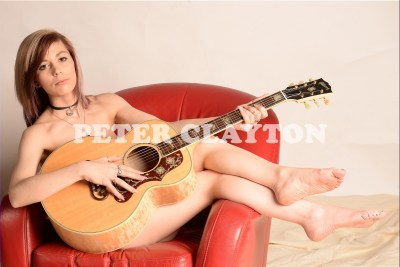 NUDE WITH GIBSON L200 M GUITAR #1 R4
