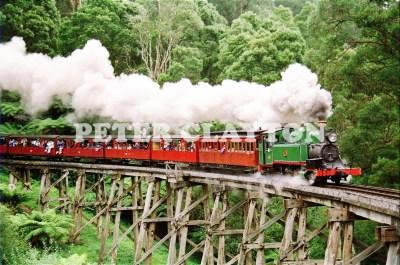 STEAM TRAIN -PUFFIND BILLY'#5 R4