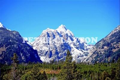 TETON MTNS - WYOMING USA  #5 R4