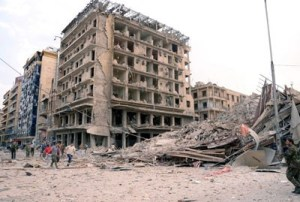 Syria Saadallah Al-Jabri Sq Aleppo After Blast
