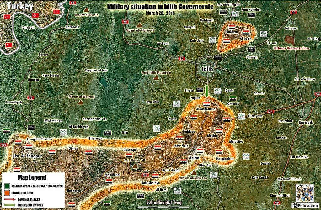 httpwwwpetercliffordonlinecomsyriairaqnews4 Idlib Situation