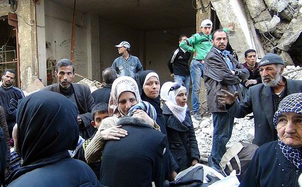 Palestinians Barely Surviving in Yarmouk