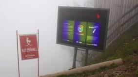 Mausefalle in de mist......