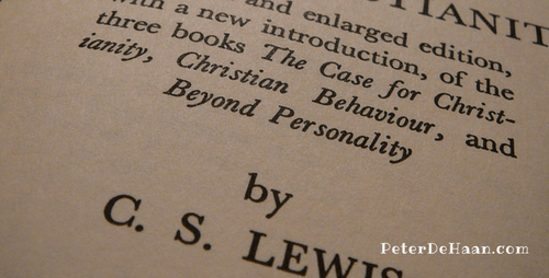 Book Review: Mere Christianity, by C. S. Lewis