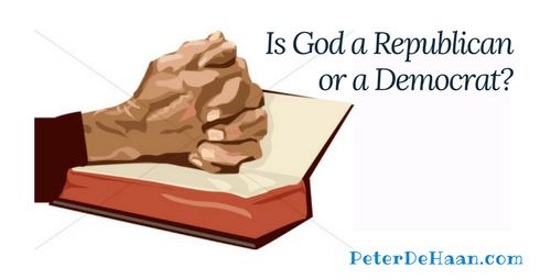 Is God a Republican or a Democrat?