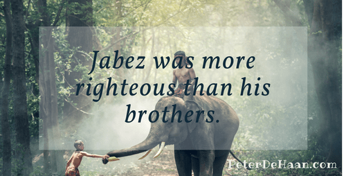 Jabez Was More Righteous Than His Brothers