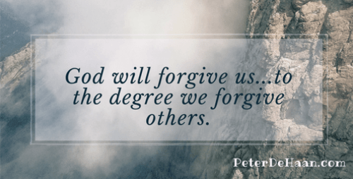 Forgive Us as We Forgive Others