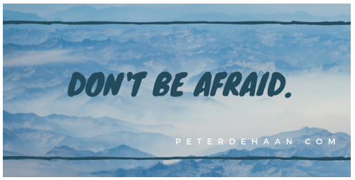 Don't Be Afraid—It's Just an Angel