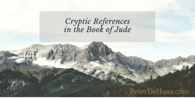 Cryptic References in the Book of Jude