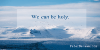 God Says You Are Holy