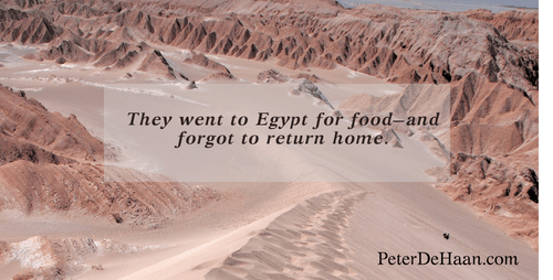 They Went to Egypt for Food—and Forgot to Return Home