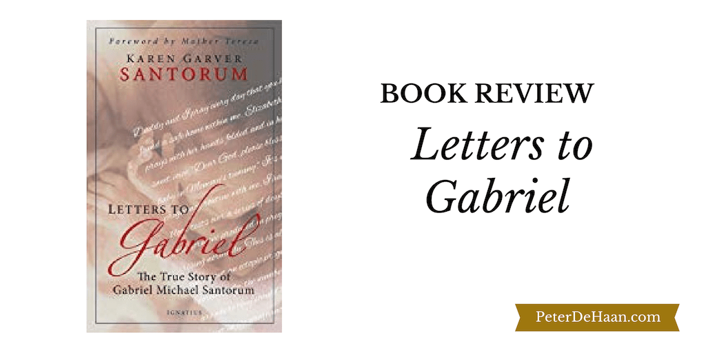 Book Review: Letters to Gabriel