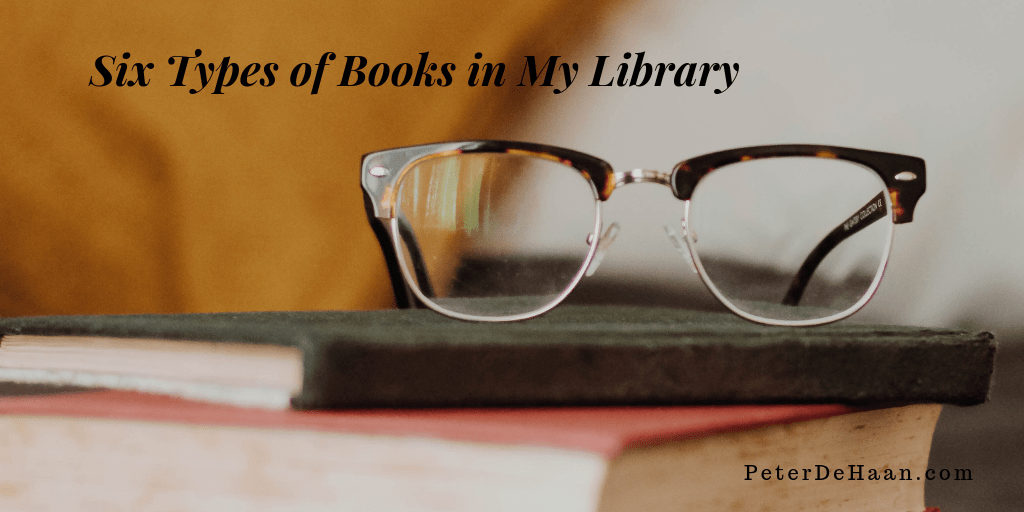 Six Types of Books in My Library