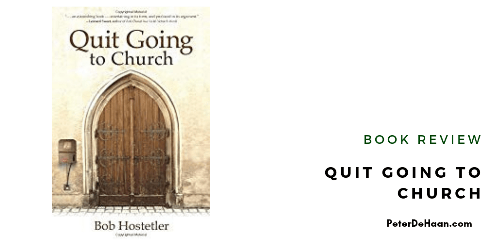 Book Review: Quit Going to Church