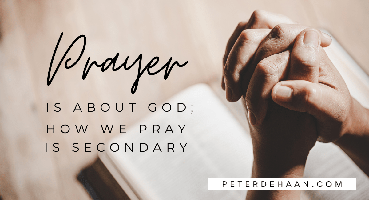 Three Questions About Prayer: Fold Hands, Close Eyes, Bow Head