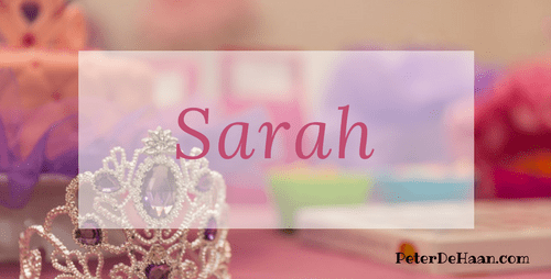 Women in the Bible: Sarah