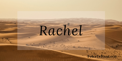 Women in the Bible: Rachel