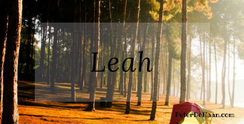 Women in the Bible: Leah