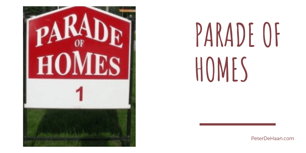 What I Learned From the Parade of Homes