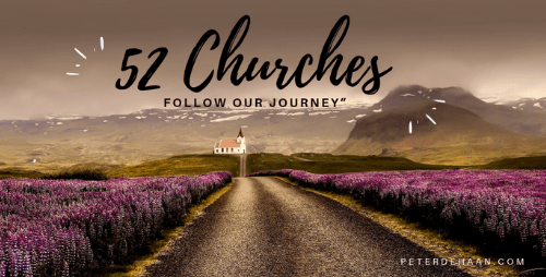 52 Churches: The Journey Begins