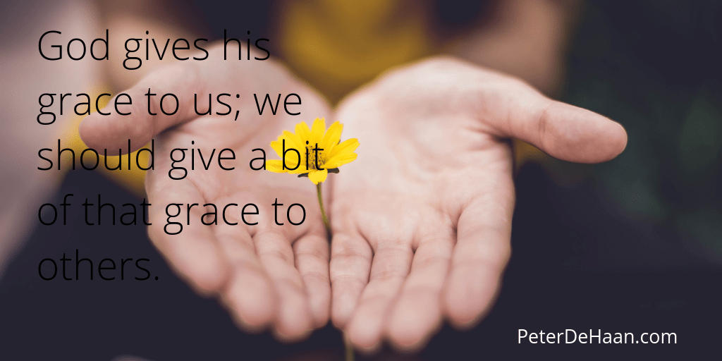 Do You Excel at the Grace of Giving?