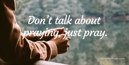 What Happens After We Promise to Pray For Others?