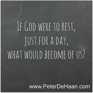 What Does God Do On Sunday?