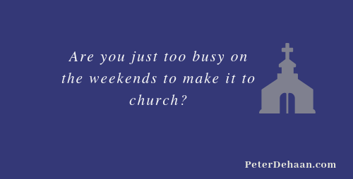 Should You Go to Church Today?