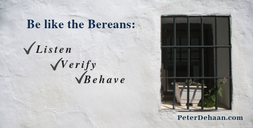 Be Like Berea: Are You of More Noble Character?