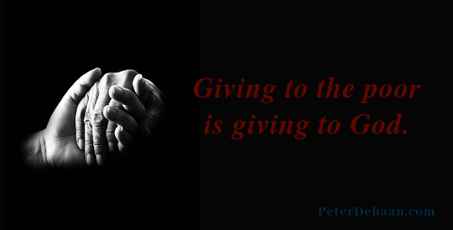 Another Way to Give to God