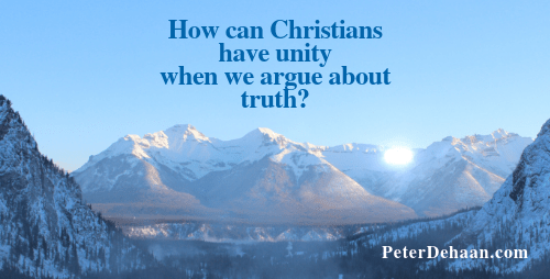 Is Spiritual Truth More Important Than Christian Unity?