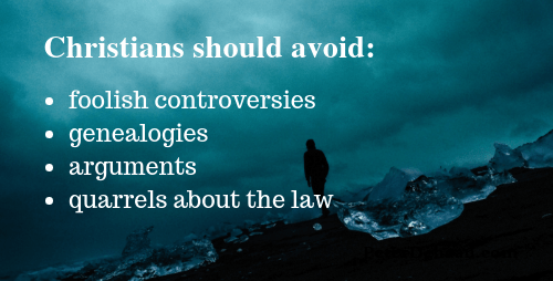 4 Things Christians Need to Avoid