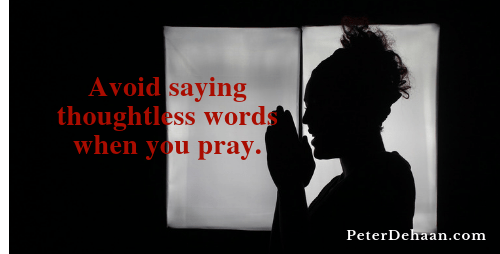 Do We Need to Rethink How We Pray?