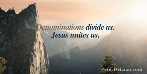 Why Are Denominations Dangerous?