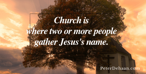 Does Dropping Out of Church Mean Turning Your Back on God?
