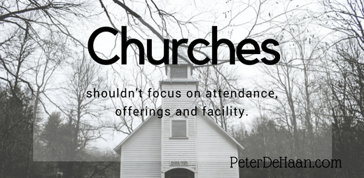 The Three Priorities of a Church: Butts, Bucks, and Buildings