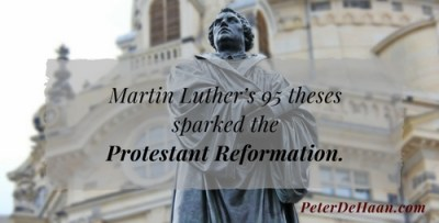 Martin Luther's Ninety-Five Theses and the Fervor They Caused