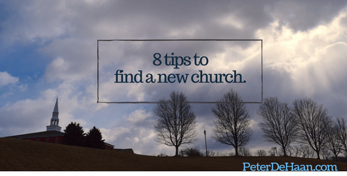 8 Tips to Find a New Church