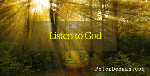 When God Calls Do We Answer? When He Speaks Do We Listen?