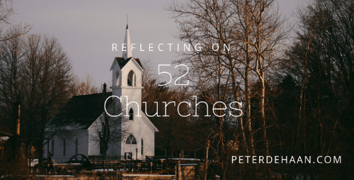 Reflecting on Church #37: It's Time for a Serious Cleaning