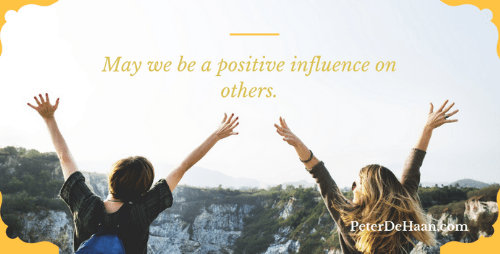 Do We Have a Positive Influence on Others or a Negative One?
