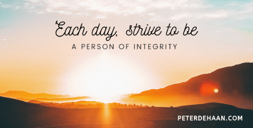 Are You a Person of Integrity?