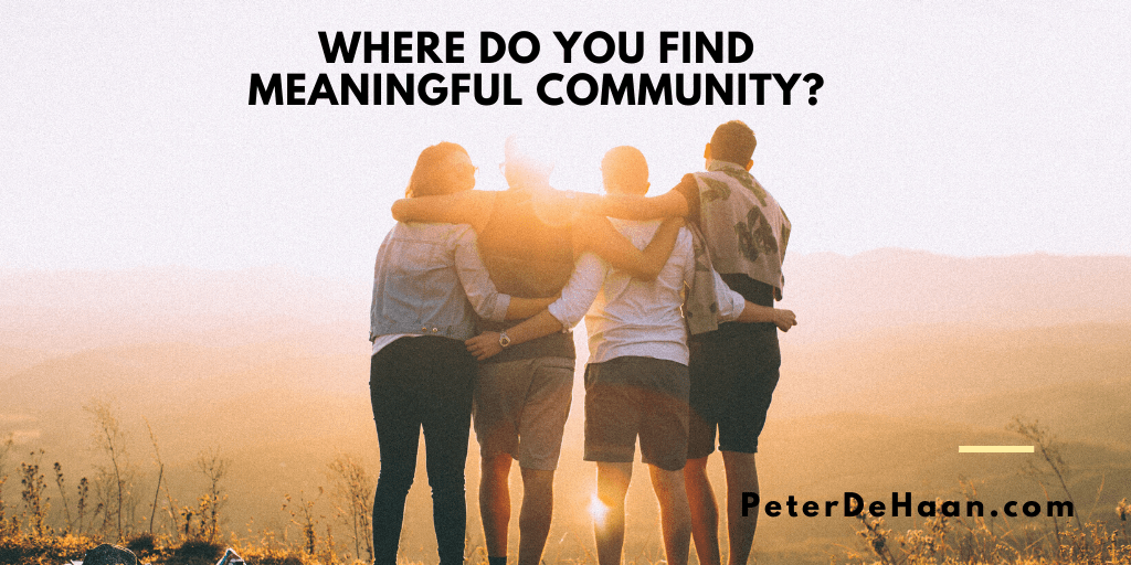 Two Key Advantages of Community