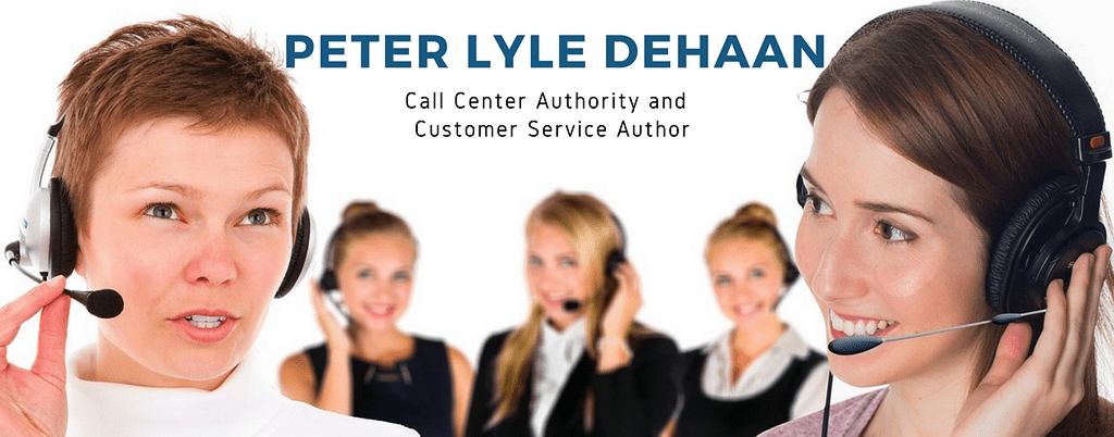 Peter Lyle DeHaan - Call Center Authority and Customer Service Author