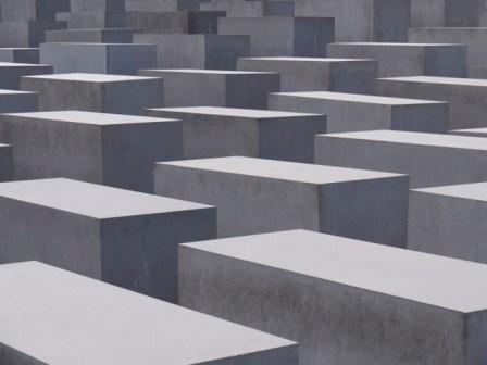 Holocaust Memorial. Copyright PD Smith