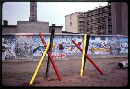 Berlin Wall, December 1990. Copyright PD Smith