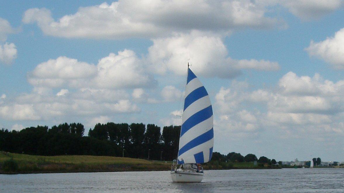 Via de Staandemast route naar Zeeland (2013)