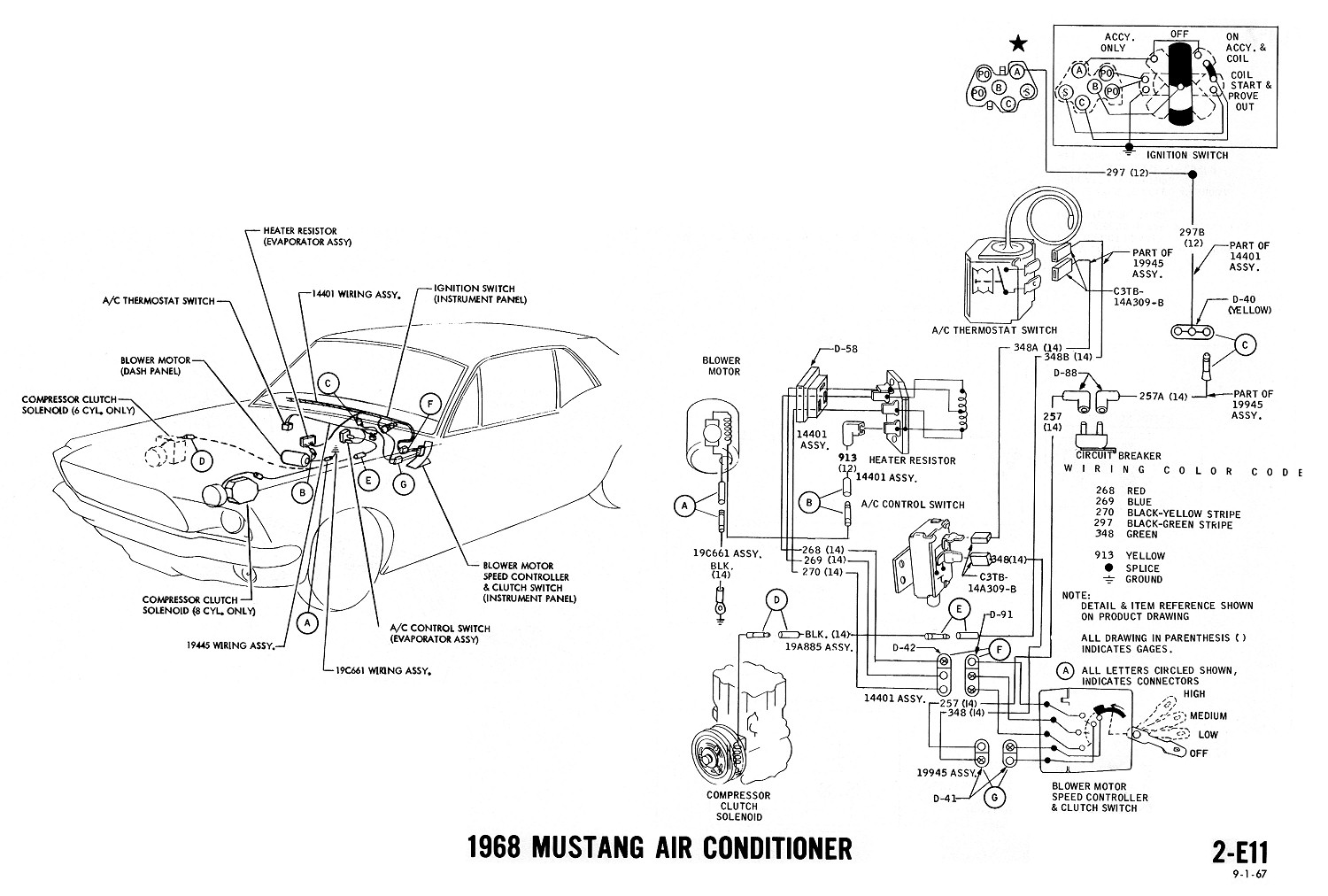E on corvette air conditioning wiring diagram