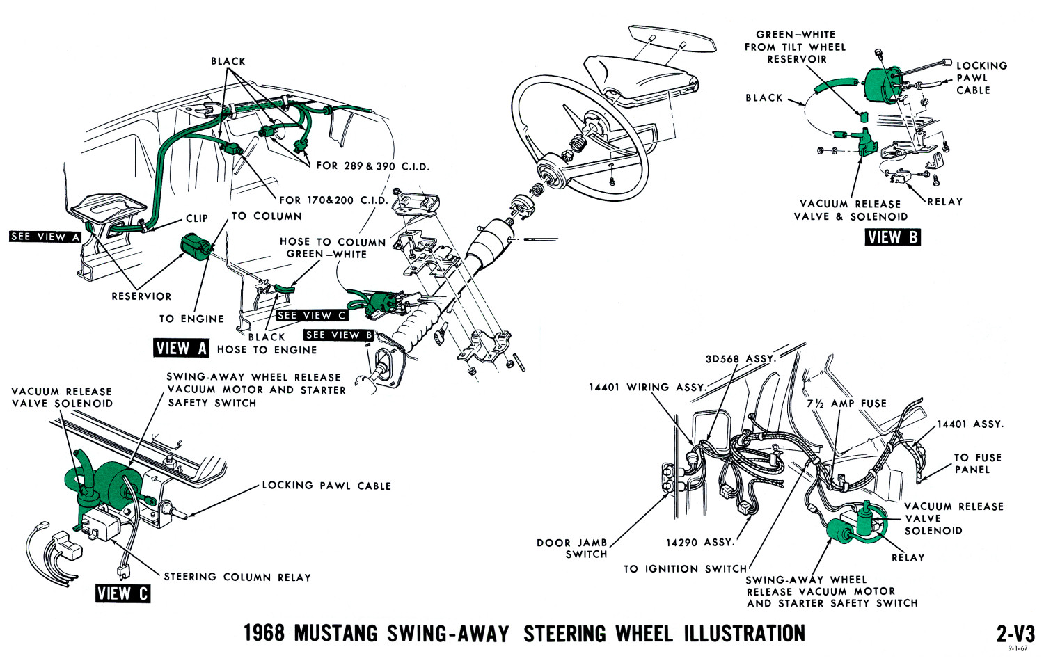 67 Corvette Headlight Motor Wiring Diagram